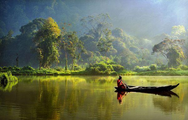 λίμνη ινδονησία