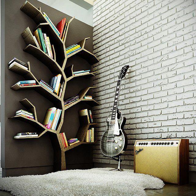 Πανέμορφη αλλά χωράει λίγα βιβλία...