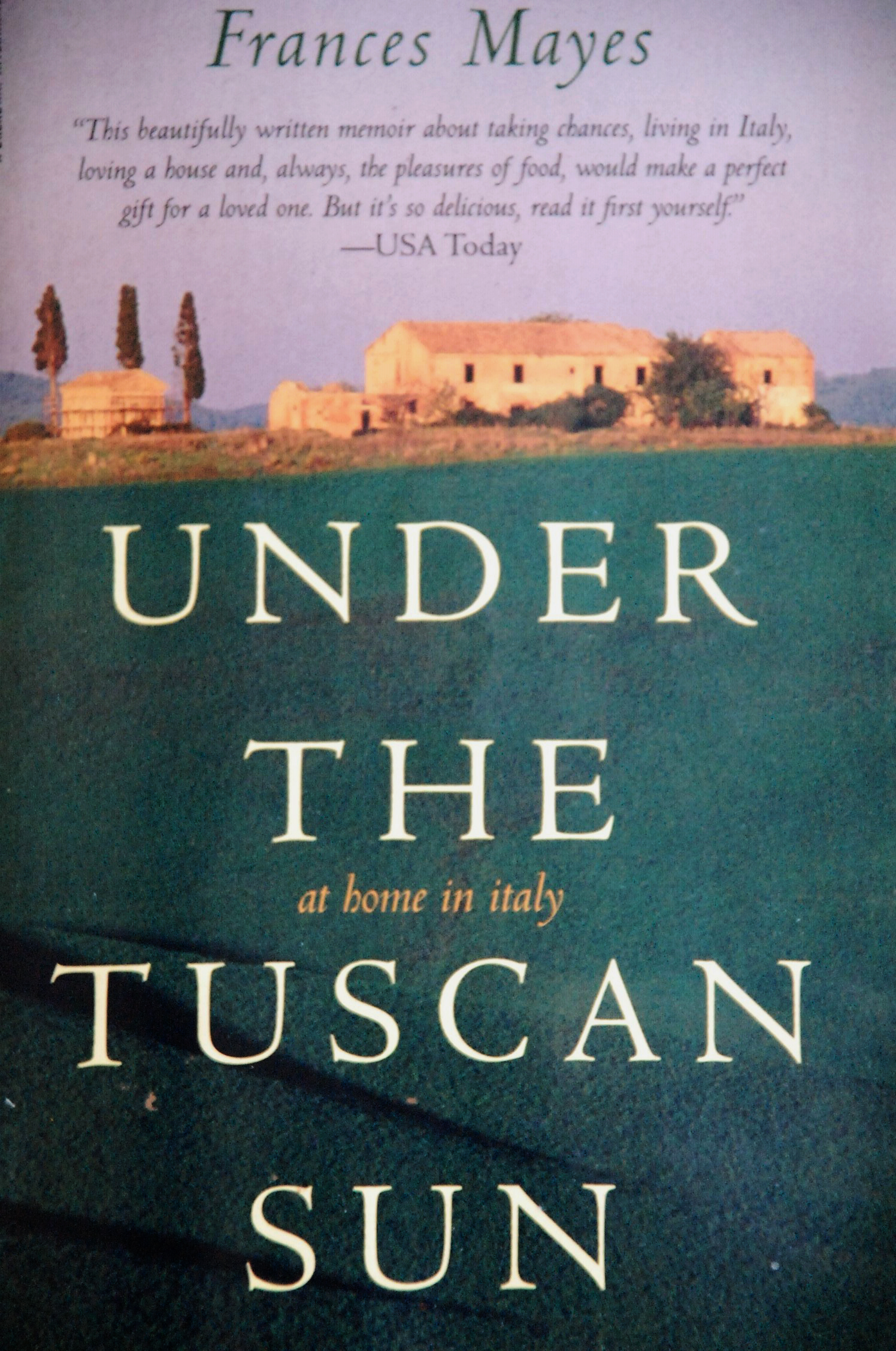 under the tuscan sun essay Movies similar to under the tuscan sun: eat pray love (2010), no reservations (2007), the holiday (2006), shall we dance (2004), letters to juliet (2010), something new (2006), a good year (2006), must love 2 look for them in the presented list save this list to under the tuscan sun (2003.