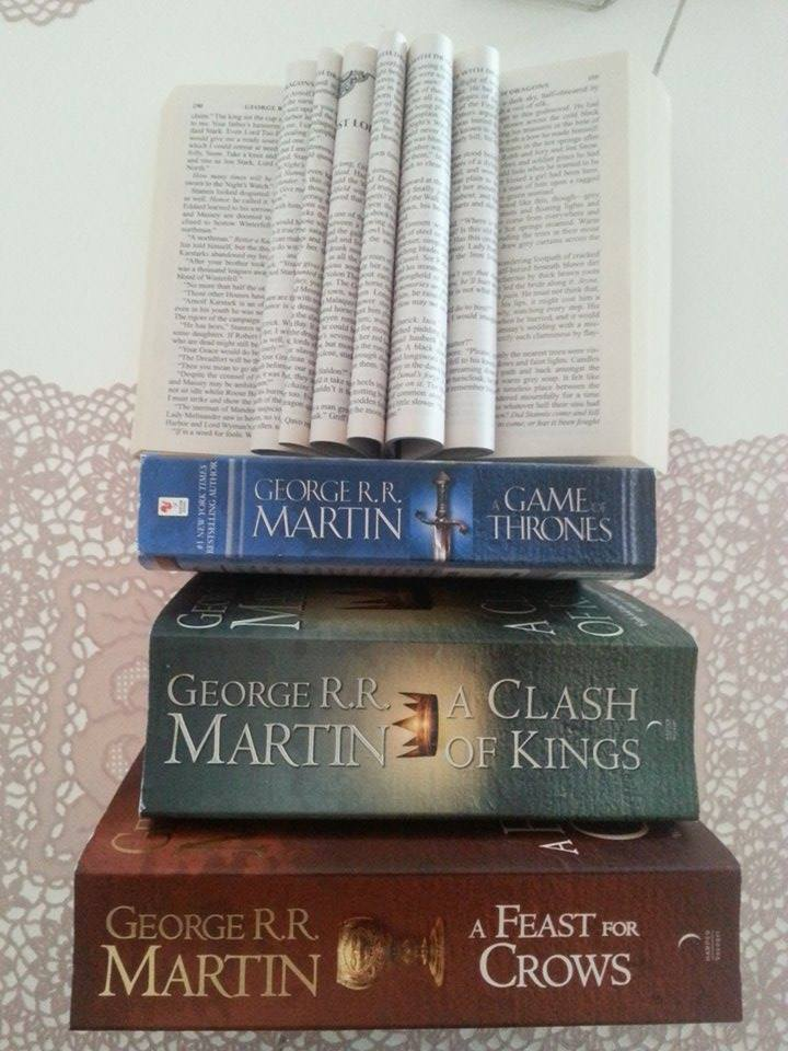 Game-of-Thrones books