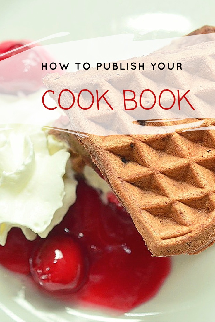 How to publish a cook-book